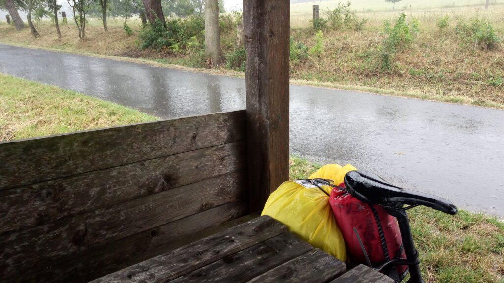 Okolo republiky - déšť